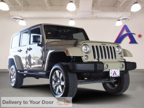 Certified Pre-Owned 2017 Jeep Wrangler Unlimited Sahara 4WD