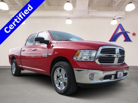 Certified Pre-Owned 2018 Ram 1500 Big Horn RWD 4D Crew Cab