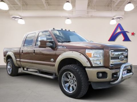 Pre-Owned 2012 Ford F-250SD King Ranch 4WD