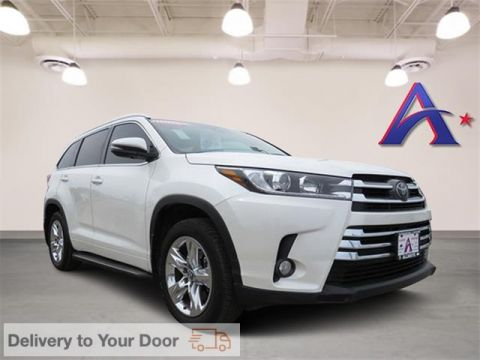 Pre-Owned 2018 Toyota Highlander Limited FWD 4D Sport Utility