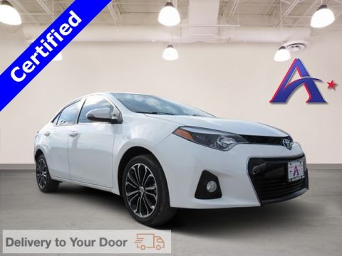 Certified Pre-Owned 2015 Toyota Corolla S FWD 4D Sedan